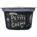 [Stonyfield Farm] Dairy Snack, Lowfat Petite Creme Belle Blueberry  At least 95% Organic
