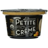 [Stonyfield Farm] Dairy Snack, Lowfat Petite Creme Ooh Lala Peach  At least 95% Organic