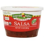 [Emerald Valley Kitchen] Salsa - Made w/ Organically Grown Tomatoes Mild  At least 95% Organic
