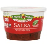 [Emerald Valley Kitchen] Salsa - Made w/ Organically Grown Tomatoes Hot  At least 95% Organic