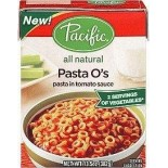 [Pacific Natural Foods] Ready to Eat Pasta Meals Pasta O`s, All Natural