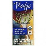 [Pacific Natural Foods] Organic Soy Beverage Original, Unsweetened  At least 95% Organic