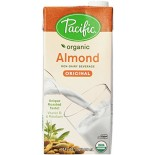 [Pacific Natural Foods] Non Dairy Alternative Beverage Almond, Original  At least 95% Organic