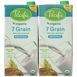 [Pacific Natural Foods] Oat/Multigrain Non Dairy Alternative Beverage 7 Grain, Original  At least 95% Organic