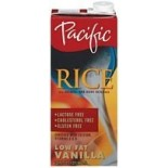 [Pacific Natural Foods] Low Fat Rice Beverage Vanilla, LF