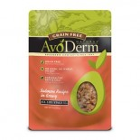 [Avoderm Natural] Cat Food, Wet - Grain Free Salmon Recipe in Gravy, Grain Free