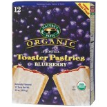 [Nature`S Path] Toaster Pastries Blueberry, Frosted  At least 95% Organic