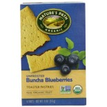 [Nature`S Path] Toaster Pastries Blueberry, Unfrosted  At least 95% Organic