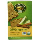 [Nature`S Path] Toaster Pastries Apple Cinnamon, Unfrosted  At least 95% Organic