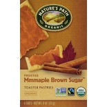 [Nature`S Path] Toaster Pastries Brown Sugar Maple Cinn, Frosted  At least 95% Organic