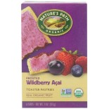 [Nature`S Path] Toaster Pastries Wildberry Acai, Frosted  At least 95% Organic