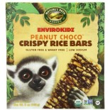 [Nature`S Path-Envirokidz] Cereal Bars Lemur Peanut Choco Drizzle  At least 95% Organic