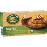 [Nature`S Path] Waffles Chia Plus, Gluten Free  At least 95% Organic