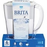 [Brita]  Pitcher, Space Saver