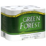 [Green Forest]  Bath Tissue, 2Ply, Wht, Dbl Roll