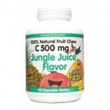 [Natural Factors] Fruit Chewable Vitamin C 500 mg Jungle Juice