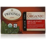 [Twinings] Organic Teas Breakfast Blend  100% Organic