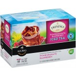 [Twinings] K-Cups Iced, Pomegranate Raspberry