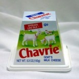 [Chavrie] Cheese Mild Goat Cheese Plain - Pyramid