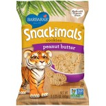 [Barbara`S Bakery] Snackimals Animal Cookies Peanut Butter  At least 70% Organic
