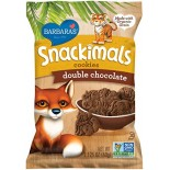 [Barbara`S Bakery] Snackimals Animal Cookies Double Chocolate  At least 70% Organic