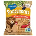 [Barbara`S Bakery] Snackimals Animal Cookies Chocolate Chip  At least 70% Organic