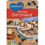 [Barbara`S Bakery] Morning Oat Crunch Cereal Mini Blueberry Burst