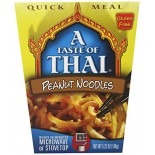 [A Taste Of Thai] Asian Meals/Soups On The Go Mild Peanut Noodle