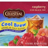 [Celestial Seasonings] Cool Brew Iced Tea Raspberry, Black