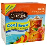 [Celestial Seasonings] Cool Brew Iced Tea Peach, Black