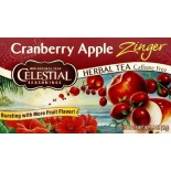 [Celestial Seasonings] Teas Cranberry Apple Zinger w/Vit C
