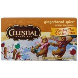 [Celestial Seasonings] Holiday Teas & Displays Gingerbread Spice