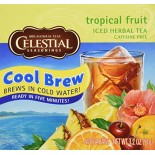 [Celestial Seasonings] Cool Brew Iced Tea Tropical Fruit, Herbal