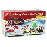 [Celestial Seasonings] Holiday Teas & Displays Cranberry Vanilla Wonderland