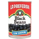 [La Preferida]  Beans, Black Low Sodium