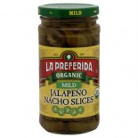 [La Preferida] Peppers & Chiles Jalapeno Slices, Mild  At least 95% Organic