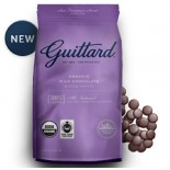 [Guittard] Baking Wafers FT 38% Cacao Milk Chocolate  At least 95% Organic