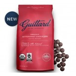 [Guittard] Baking Wafers FT 74% Cacao Bittersweet Choc.  At least 95% Organic