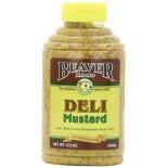 [Beaver] Condiments Mustard, Deli Style, Squeeze
