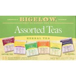 [Bigelow] Herbal Tea Bags Six Assorted