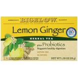 [Bigelow] Herbal Tea Bags Herb Plus, Lemon Ginger