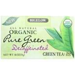[Bigelow] Decaffeinated Tea Bags Org Pure Green  At least 95% Organic