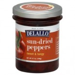 [De Lallo]  Sun Dried Peppers, Swt/Tangy
