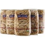 [De Lallo] Organic Semolina Pasta Penne Rigate #36, Whole Wheat  100% Organic