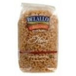 [De Lallo] Organic Semolina Pasta Elbows #52, Whole Wheat  100% Organic
