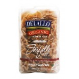 [De Lallo] Imported Italian Pasta Farfalle #87, Whole Wheat  100% Organic