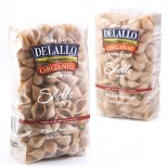[De Lallo] Organic Semolina Pasta Shells #91, Whole Wheat  100% Organic