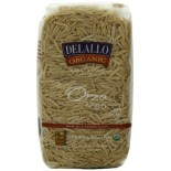 [De Lallo] Organic Semolina Pasta Orzo, Whole Wheat  100% Organic