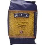 [De Lallo] Wheat/Gluten Free Pasta Orzo #65, Wheat/Gluten Free