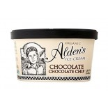[Aldens Ice Cream]  Chocolate Chocolate Chip  At least 95% Organic